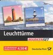 GERMANY BUND, 2005, Markenheftchen / Booklet MH 58a1, Lighthouses, Small 35x30 - Booklets