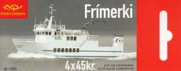 Iceland 2003 Booklet Of 4 Scott #990c 45k Saefari, Saevar - Ferries - Carnets