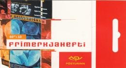 Iceland 2003 Booklet Of 10 Scott #993a 60k Poster Art - EUROPA - Carnets