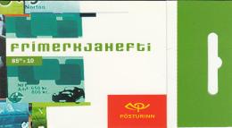 Iceland 2003 Booklet Of 10 Scott #994a 85k Poster Art - EUROPA - Carnets