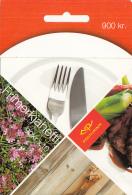 Iceland 2005 Booklet Of 10 Scott #1051a 90k Meat Fork, Knife Cuisine EUROPA - Carnets