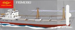 Iceland 2007 Booklet Of 4 Scott #1104c Langjokull, Akranes - Cargo Ships - Carnets