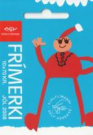 Iceland 2008 Booklet Of 10 Scott #1156a 70k Christmas Goblin, Stiff-legs - Christmas - Carnets