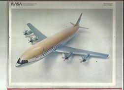 """Document  De  La N A S A   Aeronutique  L 1011  """" TRISTAR """"  Voir Details Sur Scan Au Verso - Aviation"""