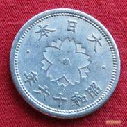 Japan 10 Sen 1941 / Yr. 16 Y# 61a Peso: 1.2 G  Japão Japon - Japan