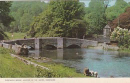 ASHFORD IN THE WATER - SHEEPWASH BRIDGE - Derbyshire
