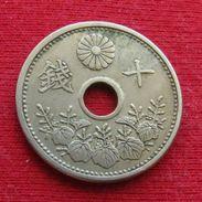 Japan 10 Sen 1927 / Yr. 2 Y# 49  Lt 371  Japão Japon - Japan