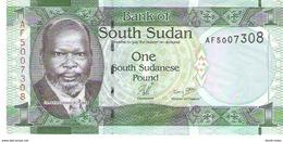 South Sudan - Pick 5 - 1 Pound 2011 - Unc - Soudan Du Sud