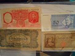 LOT  ITALIE ARGENTINE BOSNIE HONGRIE - Banconote