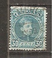 España/Spain-(usado) - Edifil  249 - Yvert  219 (o) - 1889-1931 Reino: Alfonso XIII