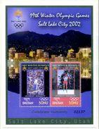 "BHUTAN MNH - SALT LAKE CITY 2002 "" - 1 BLOC - MINT SHEETS ** Sans Charniere - Inverno2002: Salt Lake City"
