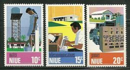 "Niu       ""Tecnical Archievements    Set        SC# 189-91   MNH** - Niue"
