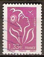 FRANCE    -  2008 .  Y&T N° 4157 Oblitéré.   Marianne - Used Stamps