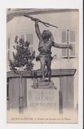 10 Mery Sur Seine Statue De Croala Sur La Place Bataille De Valmy Et De Jemmapes En 1792 - France
