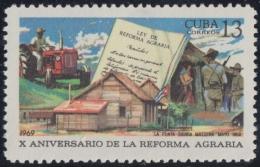 1969.62 CUBA 1969 MNH. Ed.1634. 10 ANIV REFORMA AGRARY, AGRARY REFORM. - Nuevos