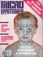Micro-systèmes N°80 - Novembre 1987 - Informatique