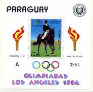 PARAGUAY JO LOS ANGELES- 1984 -1 BLOC - MINT SHEETS ** Sans Charniere - Estate 1984: Los Angeles