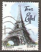 FRANCE    -  2010 .  Y&T N° 4517 Oblitéré .    La Tour Eiffel - Used Stamps