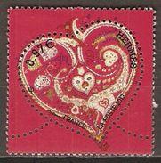 FRANCE    -  2013 .  Y&T N° 4718 Oblitéré .     Coeur  D' Hermès - Used Stamps