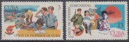 1969.67 CUBA 1969 MNH. Ed.1629-30. UJC UNION DE PIONEROS DE CUBA. - Nuevos