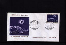 Niger 1973 Total Sun Eclipse FDC - Astronomie