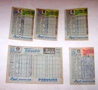 Sport - Totocalcio Lotto Schedine Usate Concorso N° 23 - 1960 - Lottery Tickets