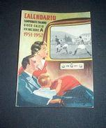 Sport Football Calcio Calendario 1951-52 Serie A Pubblicità Tadini Lambertenghi - Old Paper