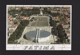PUZZLE PORTUGAL OUR LADY Of FÁTIMA FATIMA Catholic Religion AERIAL VIEW  Z1 - Unclassified