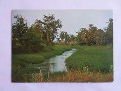 AFRICA AFRIKA AFRIQUE ANGOLA RIO BENGO RIVER FLEUVE 1970 YEARS POSTCARD Z1 - Postcards