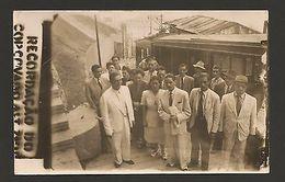 RARE Real Photo BRASIL BRAZIL RIO DE JANEIRO Year1945 FUNICULAR TRAIN TRAINS Z1 - Postcards