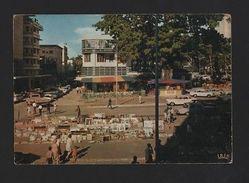 Postcard AFRICA CONGO KINSHASA  1960ys AFRIKA AFRIQUE Art Street Market - Postcards