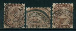 EGYPT / 1888 / SG : 58 / A VERY RARE TPO CANC. / CAIRO & ALEX. / VFU. - 1866-1914 Khedivate Of Egypt