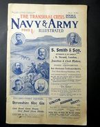 Storia Africa - Transvaal Crisis - Navy & Army - 1899 - Livres, BD, Revues