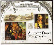 2013 Ivory Coast Stamps Germany  Famous Painter Albrecht Dürer Sheet - Arts
