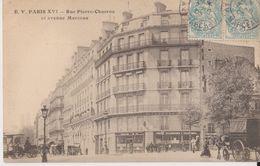 Paris - Rue Pierre Charron Et Avenue Marceau - EV - Arrondissement: 08