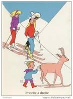 BIZ  '  SERIE LA MONTAGNE  /  LE SKI  '  EDITION OPPA   1962 NEUVE  CPSM  GLACEE / - Otros Ilustradores