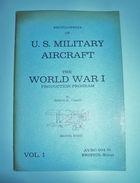 Aeronautica Aviation US Military Aircraft WWI 1972 - Unclassified
