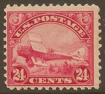 USA 1923 24c Air Biplane SG A616 UNHM #AFA37 - Air Mail