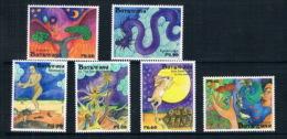 Botswana 2012 Animals And Myths Tortoises And Rabbits - Botswana (1966-...)