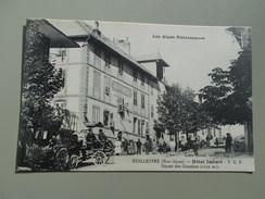 HAUTES ALPES GUILLESTRE HOTEL IMBERT  T. C. F. DÉPART DES COURRIERS - Guillestre