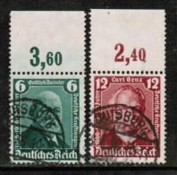 GERMANY   Scott # 470-1 VF USED W/TABS - Germany