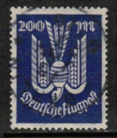 GERMANY   Scott # C 19 VF USED - Airmail