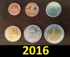 Thailand Coin Circulation Set Year 2016 UNC - Thailand