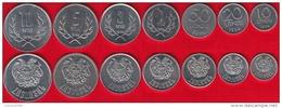 Armenia Set Of 7 Coins: 10 Luma - 10 Dram 1994 UNC - Armenia