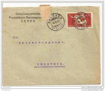 51 - 73 - Enveloppe Envoyée De Balgach 1920 - - Lettres & Documents