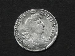 """LOUIS XIV - 4 Sols Dits """" Des Traitants"""" 1674 A - Argent  **** EN ACHAT IMMEDIAT **** - 987-1789 Monnaies Royales"""