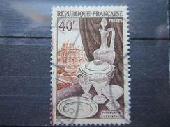 VEND BEAU TIMBRE DE FRANCE N° 972 , SANS TOIT !!! - Errors & Oddities