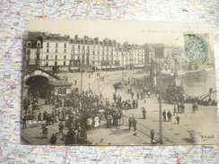 Le Quai Henri IV - Dieppe