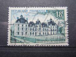 VEND BEAU TIMBRE DE FRANCE N° 980 , 2 PARATONNERRES SECTIONNES !!! - Errors & Oddities