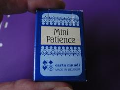 COLLECTOR Mini Jeu De 54 Cartes CARTA Mundi Playing  Cards - Format 4,5 X 3 Cm - 54 Cards
